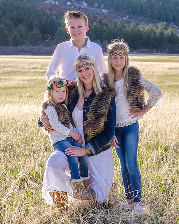 Tara Nordstrom and kids
