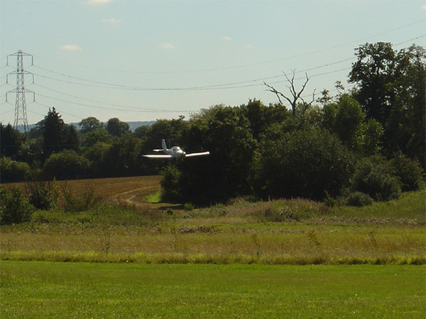 Eurostar G-RMPY landing at Plaistows