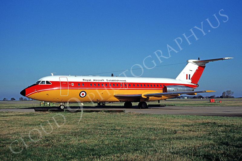 BAC One Eleven 00001 BAC One Eleven British RAF Royal Aircraft Establishment XX105 November 1991 by Peter J Mancus.jpg
