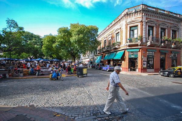 Buenos Aires, San Telmo and La Boca
