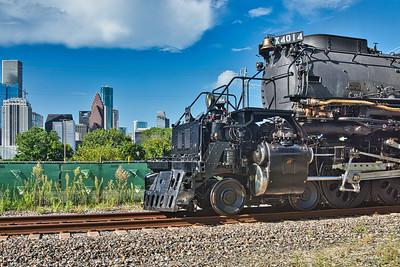 UP 4014 Big Boy Locomotive in Houston