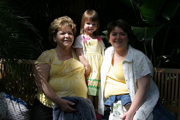 Mom 2008 Birthday at the Zoo