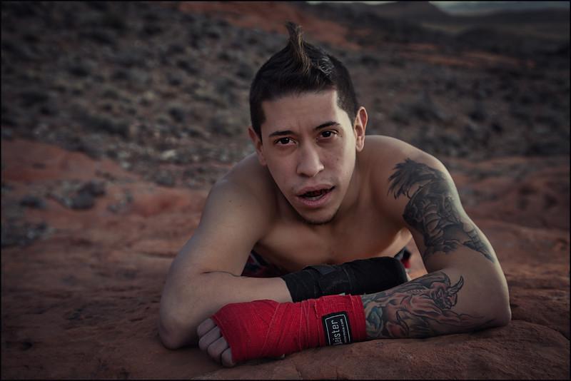 Pretty Boy of Muay Thai USA, Anthony Castrejon.