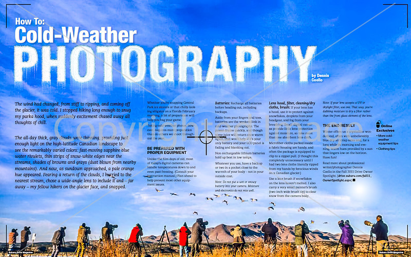 Cold-Weather Photography