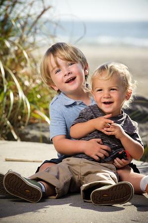 Carie + Brett = Wyatt (Family Photography, Hidden Beach Park, Aptos, California)