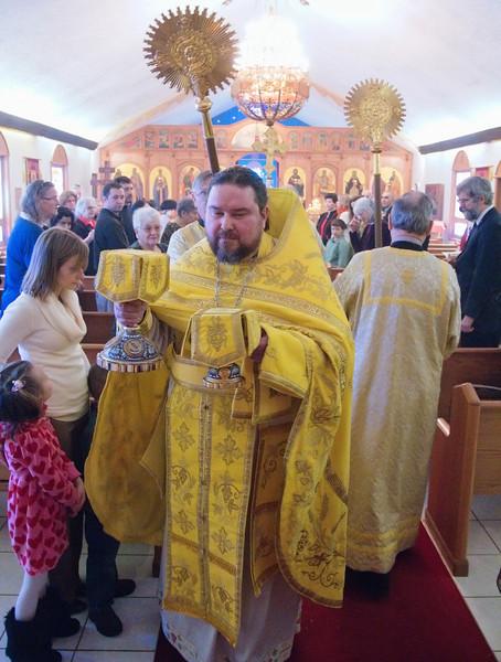 2011-02-06 Fr. Lawrence And Matushka Marie 25th Anniversary