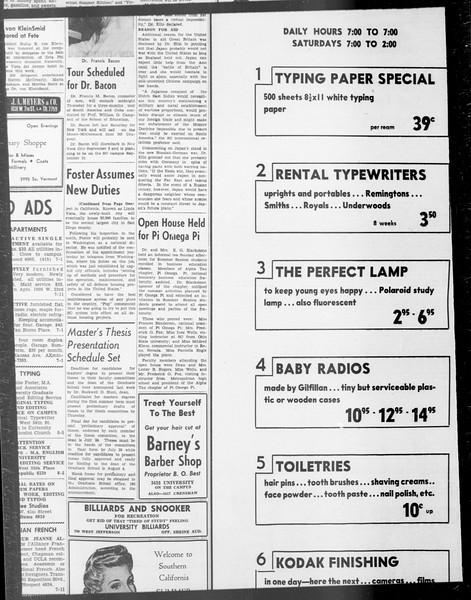 Daily Trojan, Vol. 33, No. 4, June 12, 1941
