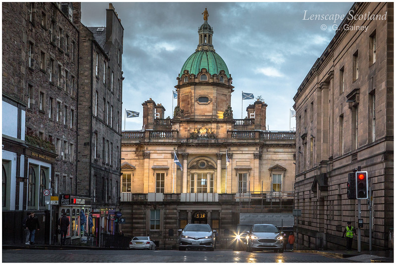 Bank Street and Bank of Scotland dome