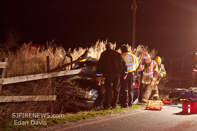 03-09-2012, MVC With Entrapment, Upper Pittsgrove Twp. Salem County, 117 Dutch Row Rd.