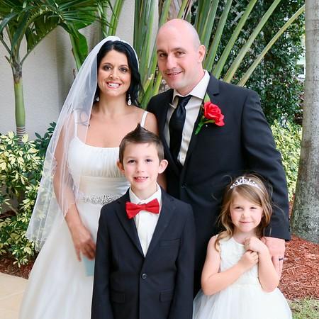 Rebecca Ellis - Michael Feroli Wedding - 30th December, 2016