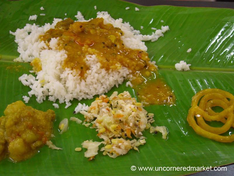 Madurai: Banana Leaf Thali