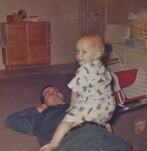 1963 Ray & Dad - Fall