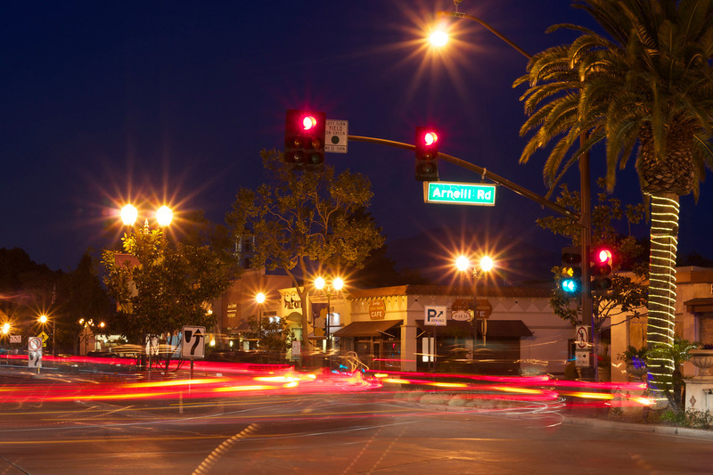 Camarillo at night