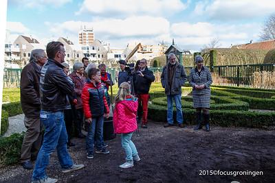 Centrum Prinsentuin 2015 Rode Berk ipv Kastanjeboom