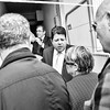 Chief Minister Fabian Picardo visited Glacis and Laguna Estate in Gibraltar as the collector of customs revoked tobacco licenses on retailers in the estate to reduce the sale of tobacco to Spanish nationals using the area to supply themselves for contraband purposes.