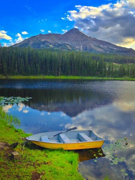 Montana Lake Boat