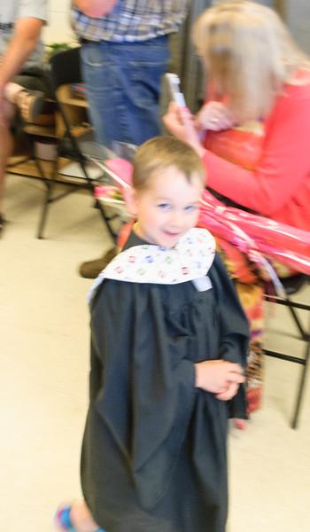 Jacob Pre-School Grad