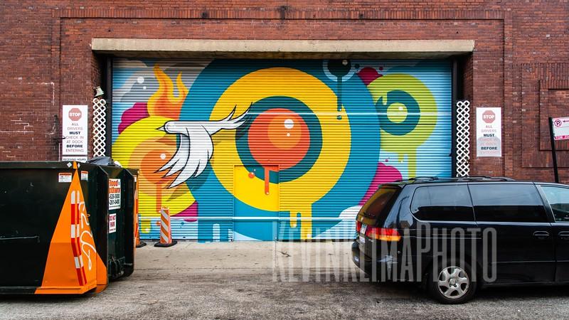 Uptown Street Art on Clifton