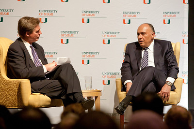 Egyptian Ambassador Sameh Shoukry - February 1, 2012