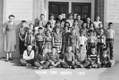 Boone Township School Photos