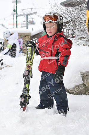 Tiny Tots Ski School 2-3-13