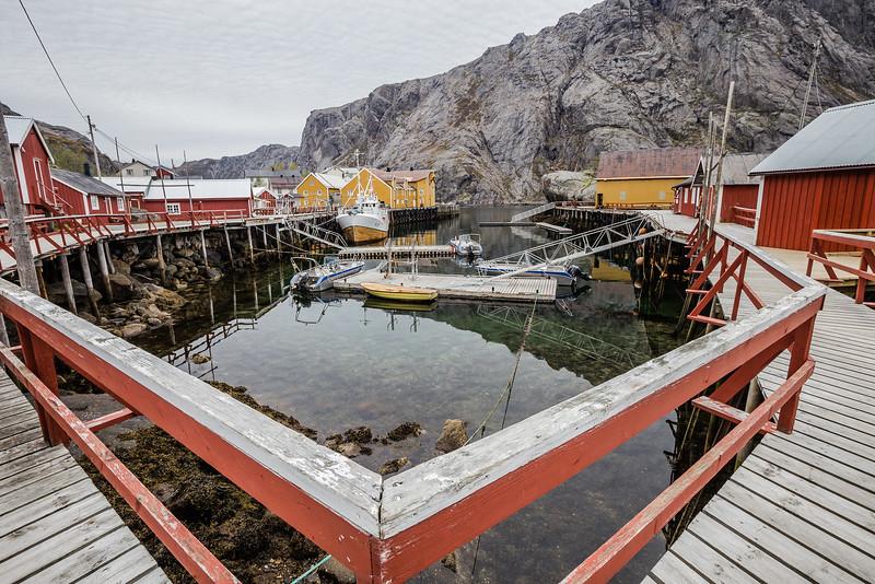 Nusfjord Norway - Located in the Lofoten Islands