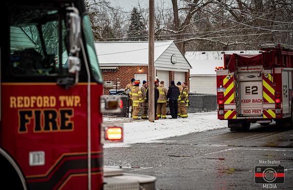 Redford MI, House Fire 1-5-2020