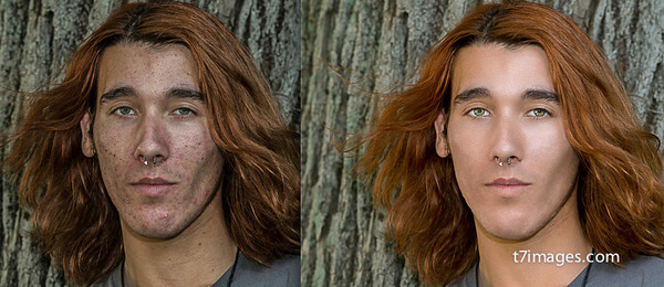 Before & After Editing with T7 Images