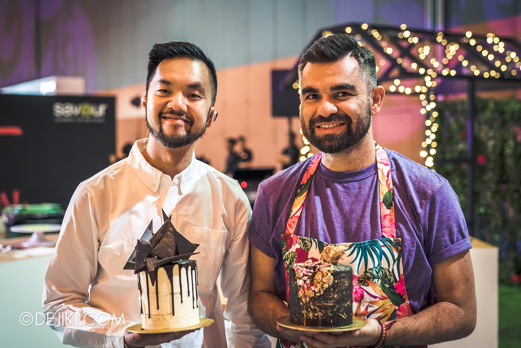 The Great Food Festival RWS - Rollin' Sweet Times / Cake Atelier - Clifford Luu and Julian Angel
