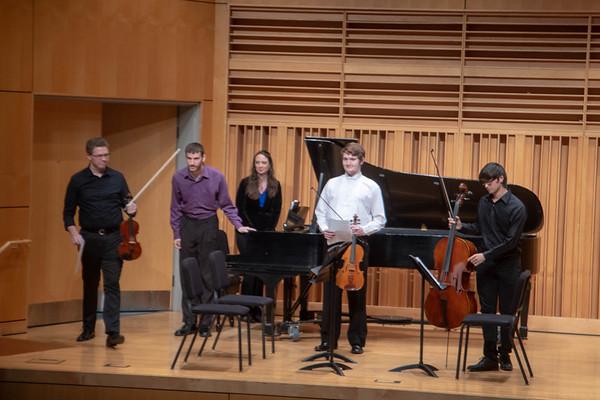 Student Chamber Ensemble Recital