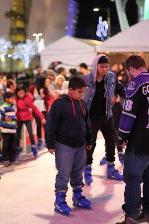L.A. Live Ice Rink 201312