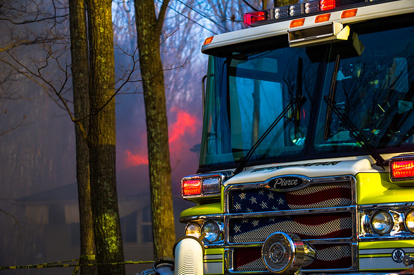 3 Alarm Fire Rips Through Home in Millstone