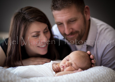Newborn Session ~ Millman