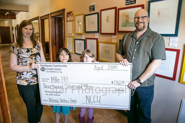 NCUU Helping Teachers Teach Grant Mike Hill 04-20-15