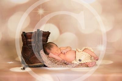Tristan newborn 9 days old