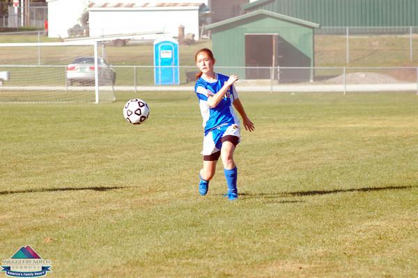 2009 Milton Girls Varsity  vs. Enosberg