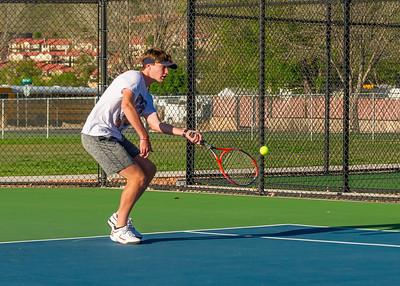 2019-04-13 Dixie HS Tennis - Cole Reber
