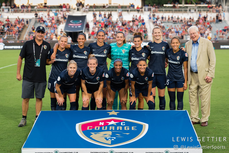 2019 Women's International Champions Cup - NC Courage vs Manchester City