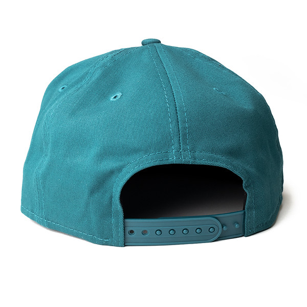Outdoor Apparel - Organ Mountain Outfitters - Hat - New Era Las Cruces Script Cap Teal Back.jpg