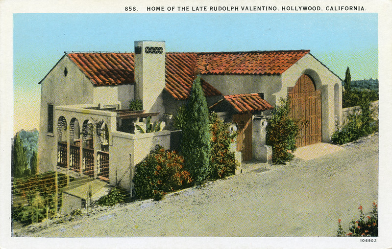 Home of the Late Rudolph Valentino