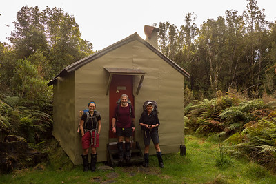Polluck Creek Hut, 22-23 July 2017