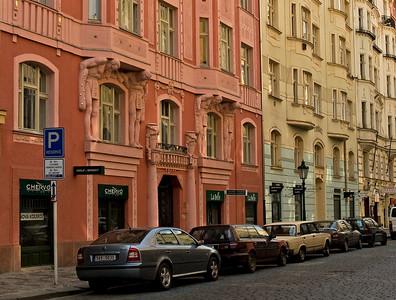 Jewish and Art Nouveau Prague