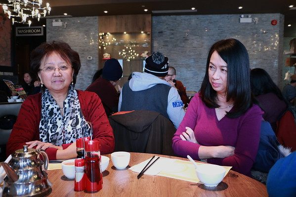 New Year's Lunch at Congee Queen