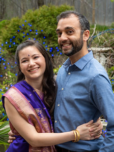 Rishi and Amy Celebrate