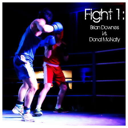 Fight 1 - Brian Downes vs Donal McNally