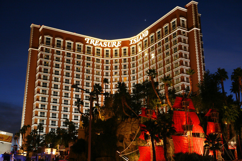 Treasure Island Hotel & Casino, Las Vegas, NV