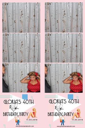 Gloria's 40th