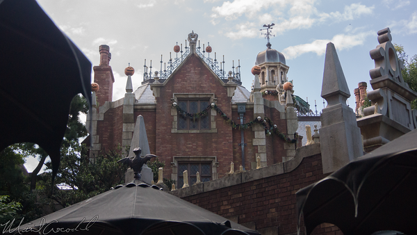 Disneyland Resort, Tokyo Disneyland, Fantasyland, Halloween, Halloween Time, Christmas, Christmas Time, Haunted Mansion, Haunted, Mansion, Haunted Mansion Holiday, Haunted Mansion Holiday Nightmare, Nightmare Before Christmas