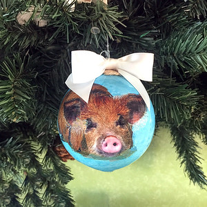 Swimming Pig Gift Ornaments