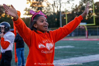 Frosh Cheer at Annandale 10/29/18